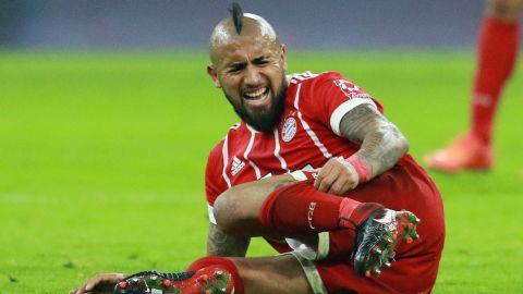 Image result for arturo vidal injury