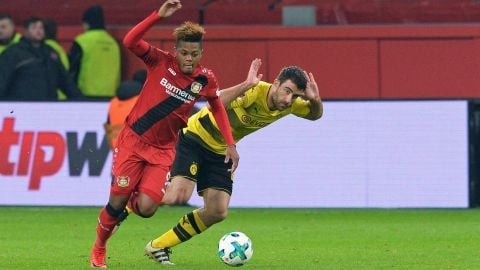 Dortmund and Leverkusen's intergalactic battle A top-four treat is in strore as Dortmund's deadly heroes meet Leverkusen's menacing marauders. vor 2 Stunden