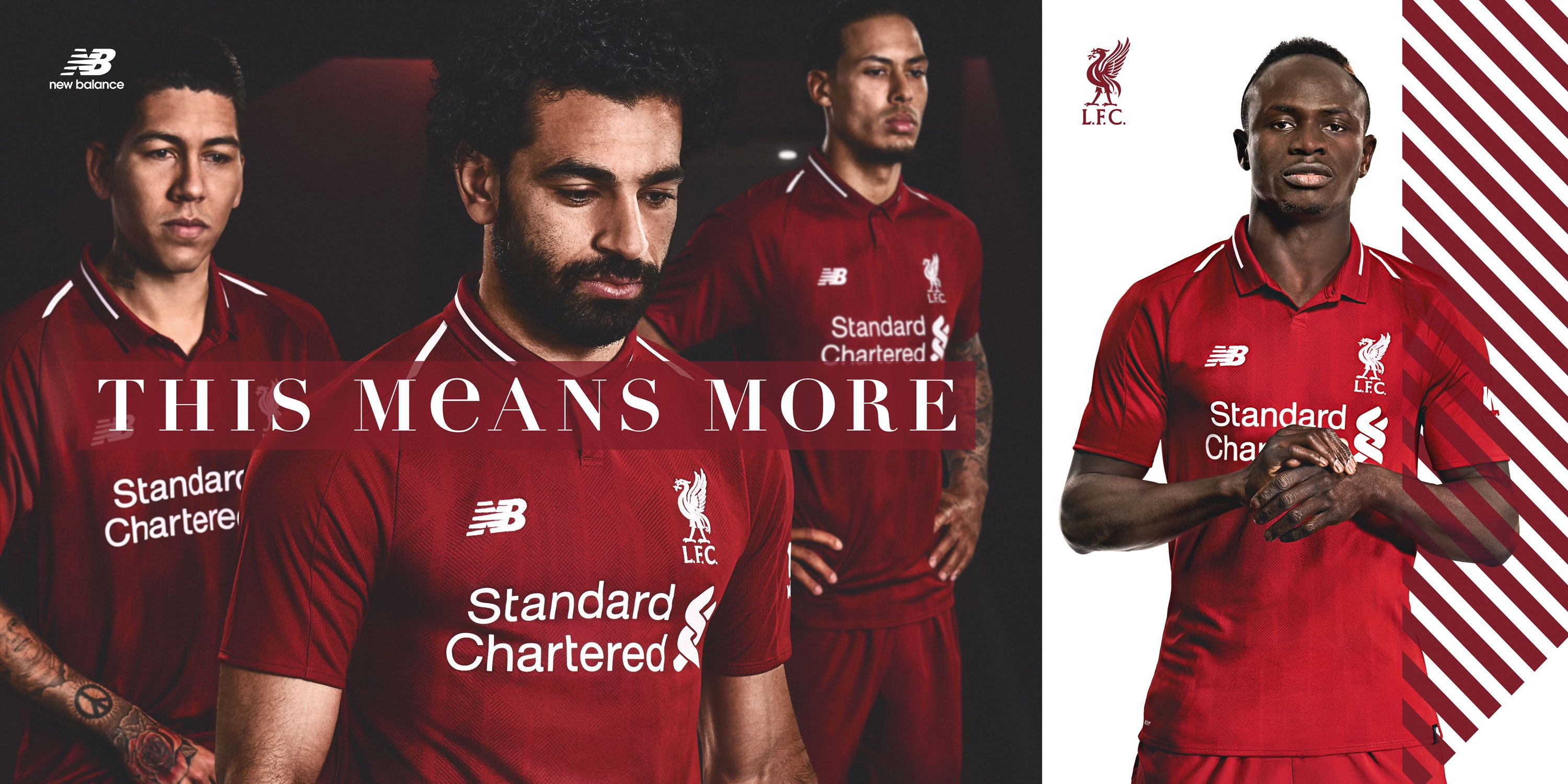 new product a3e42 dc590 Liverpool reveal Premier League home kit for 2018-19 ...