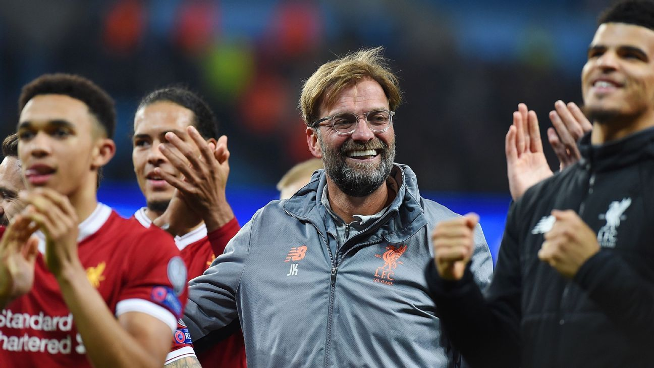 Liverpool gearing towards a title challenge as Klopp plots route to the top