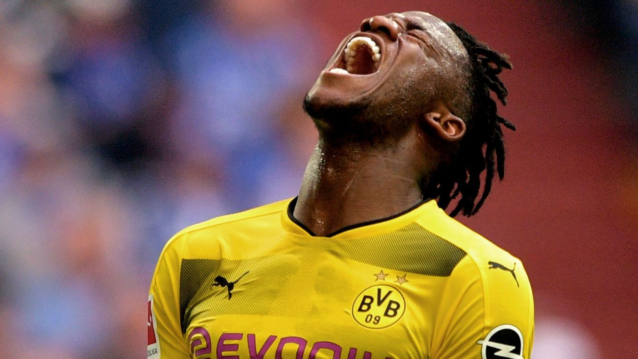 Borussia Dortmund uncertain how injured Michy Batshuayi can be replaced