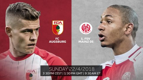 Augsburg vs. Mainz: LIVE blog! If fit, Alfred Finnbogason will give Abdou Diallo plenty to think about when Augsburg host Mainz... vor 2 Stunden