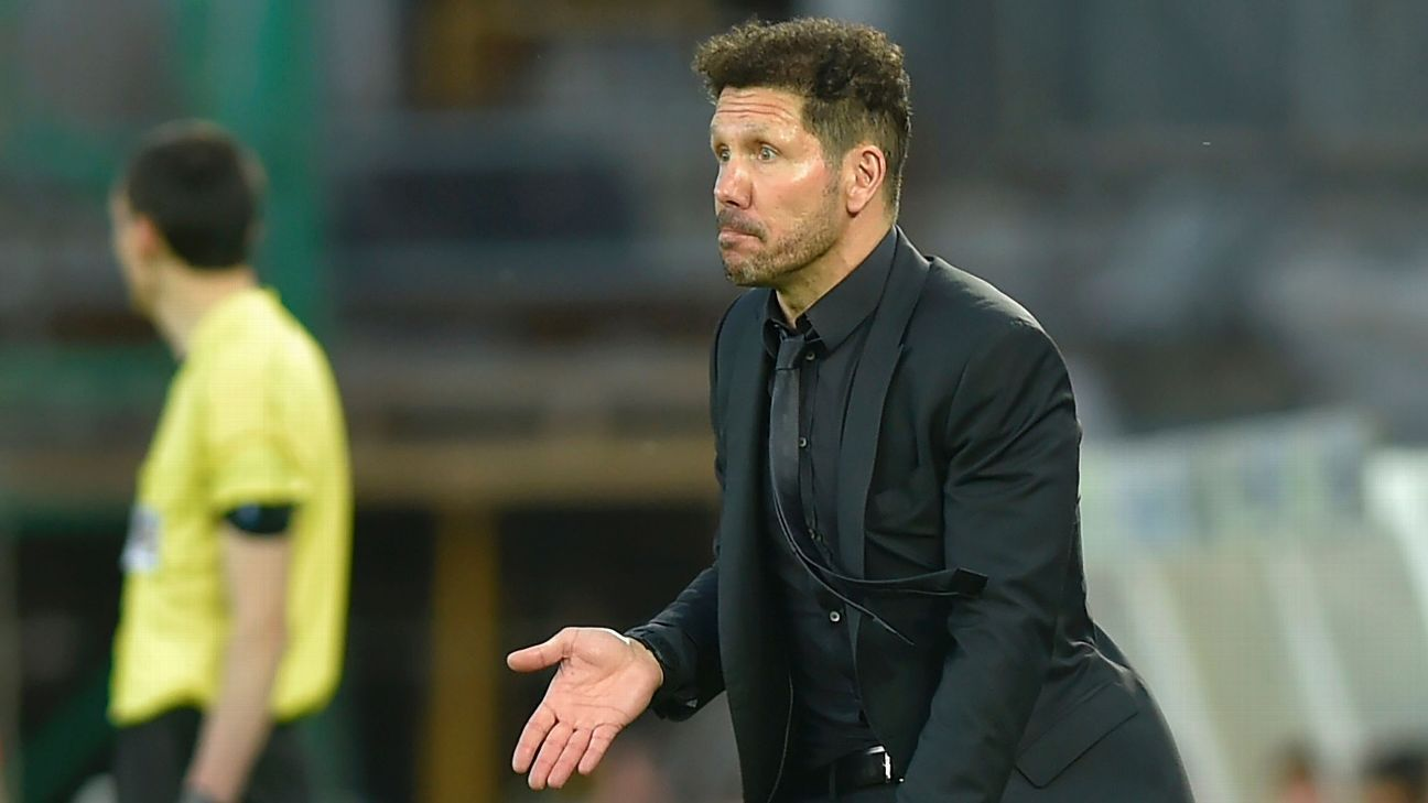 Atletico Madrid 'not so good' in lopsided loss to Real Sociedad - Diego Simeone
