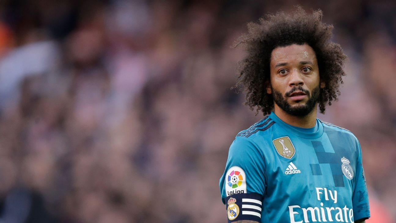 Real Madrid's Marcelo reported for coaching without credential at his academy