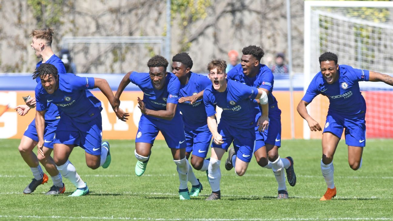 Chelsea beat Porto on penalties to reach UEFA Youth League final