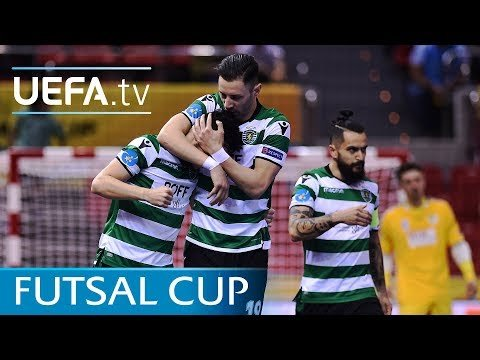 Futsal Cup highlights: Győr v Sporting CP