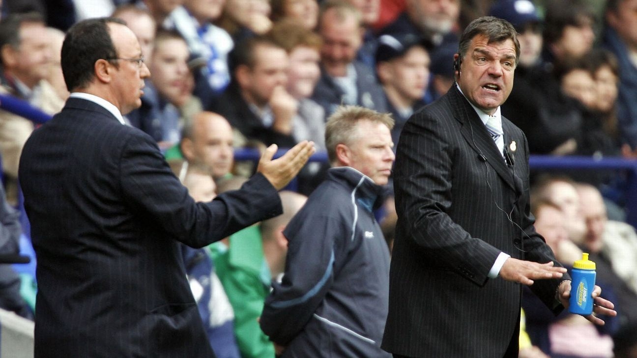 Newcastle boss Rafa Benitez defends Everton's Sam Allardyce after fan poll