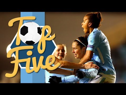 WOMEN'S TOP 5 CHAMPIONS LEAGUE GOALS