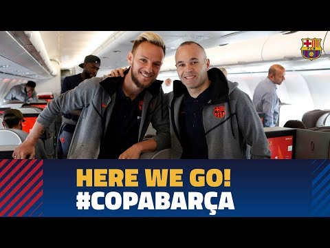 SEVILLA - BARÇA | Trip to Madrid before the Copa del Rey final