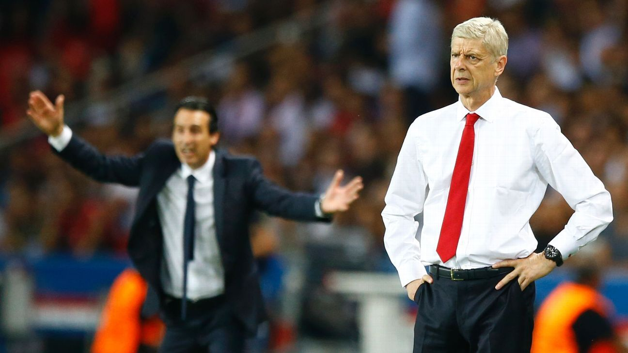 Arsene Wenger has the quality, experience to lead PSG - Unai Emery