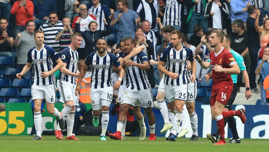 West Brom 2-2 Liverpool: Baggies Strike Back From Two Goals Down to Punish Sloppy Reds