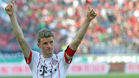 Bayern's Thomas Müller relishing Real Madrid tie