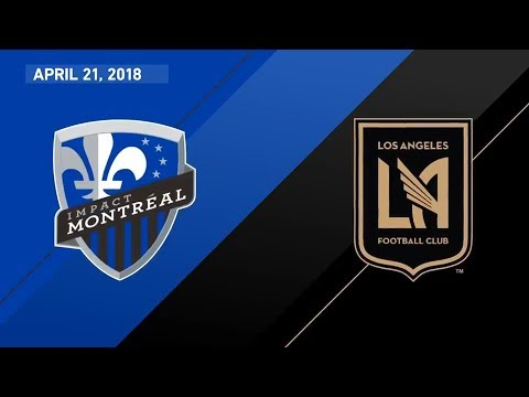 HIGHLIGHTS  Montreal Impact vs. Los Angeles Football Club | April 21, 2018