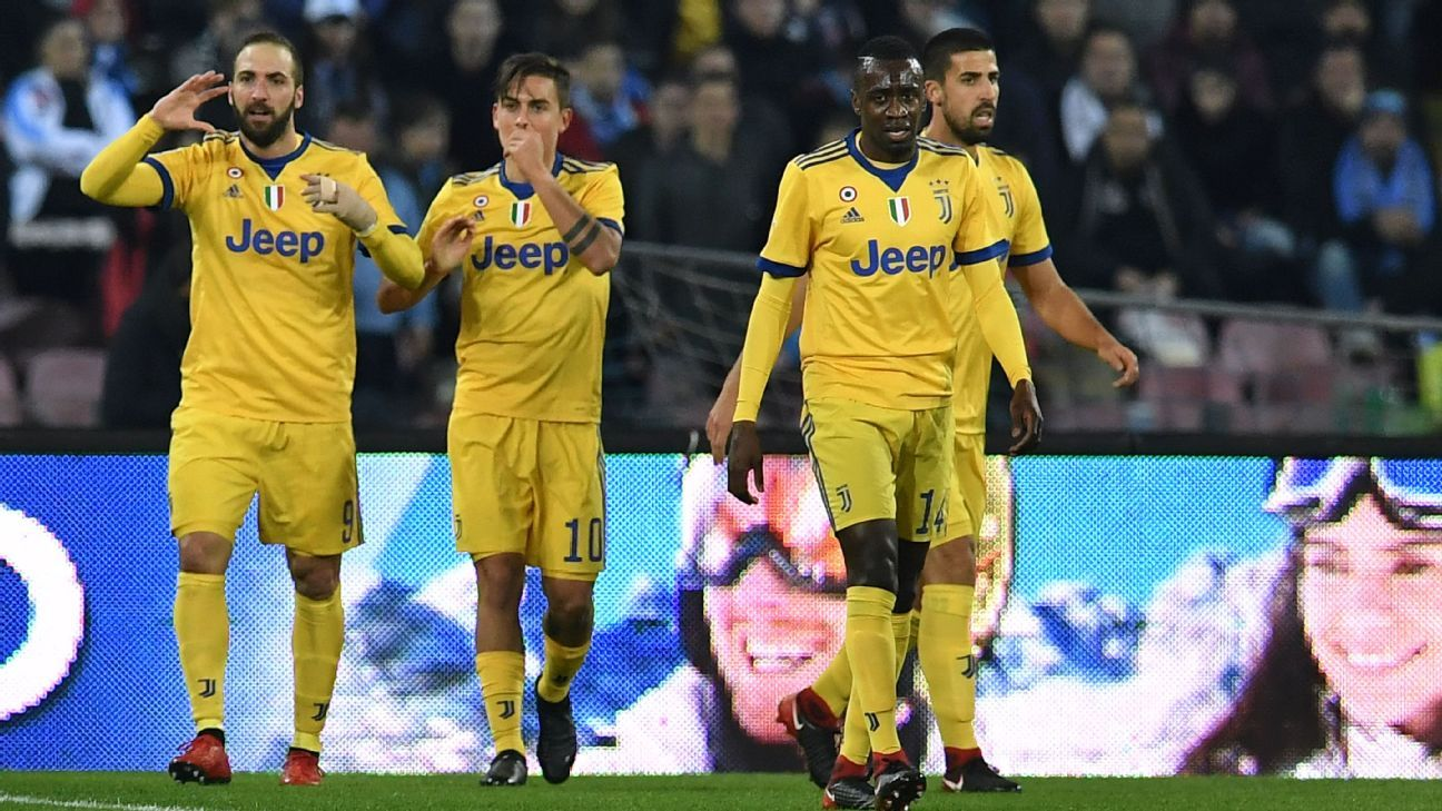 Juventus and Napoli ready for clash of styles with Scudetto implications