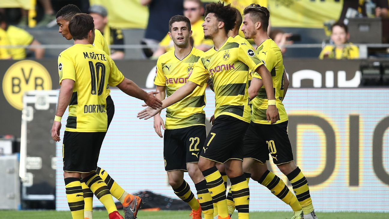 England's Jadon Sancho 'terrific' in scoring first Dortmund goal - Maximilian Philipp