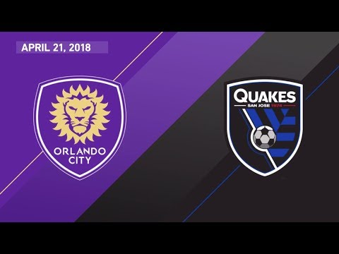 HIGHLIGHTS: Orlando City SC vs. San Jose Earthquakes | April 21, 2018
