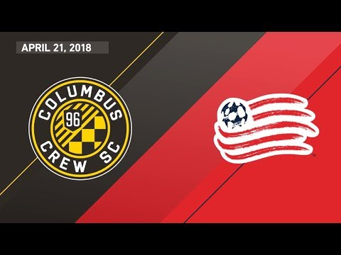 HIGHLIGHTS: Columbus Crew SC vs. New England Revolution | April 21, 2018