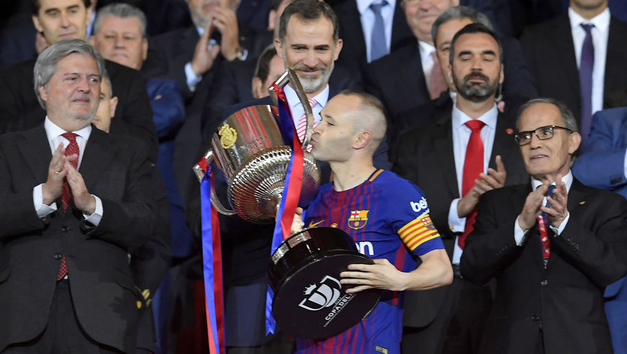 Andres Iniesta Sets Timeframe on Future Announcement Following Copa del Rey Win