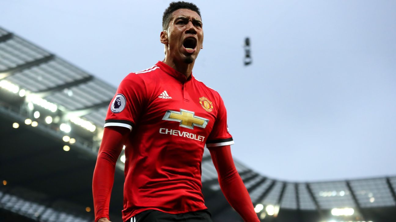 Manchester United's Chris Smalling to let his football talk ahead of World Cup