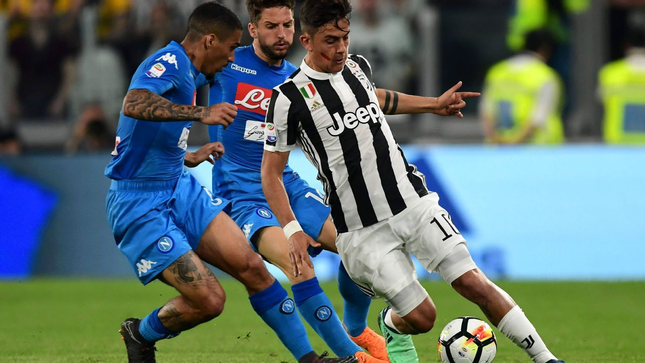 Paulo Dybala 4/10 as Juventus' passivity brings Napoli back in title race