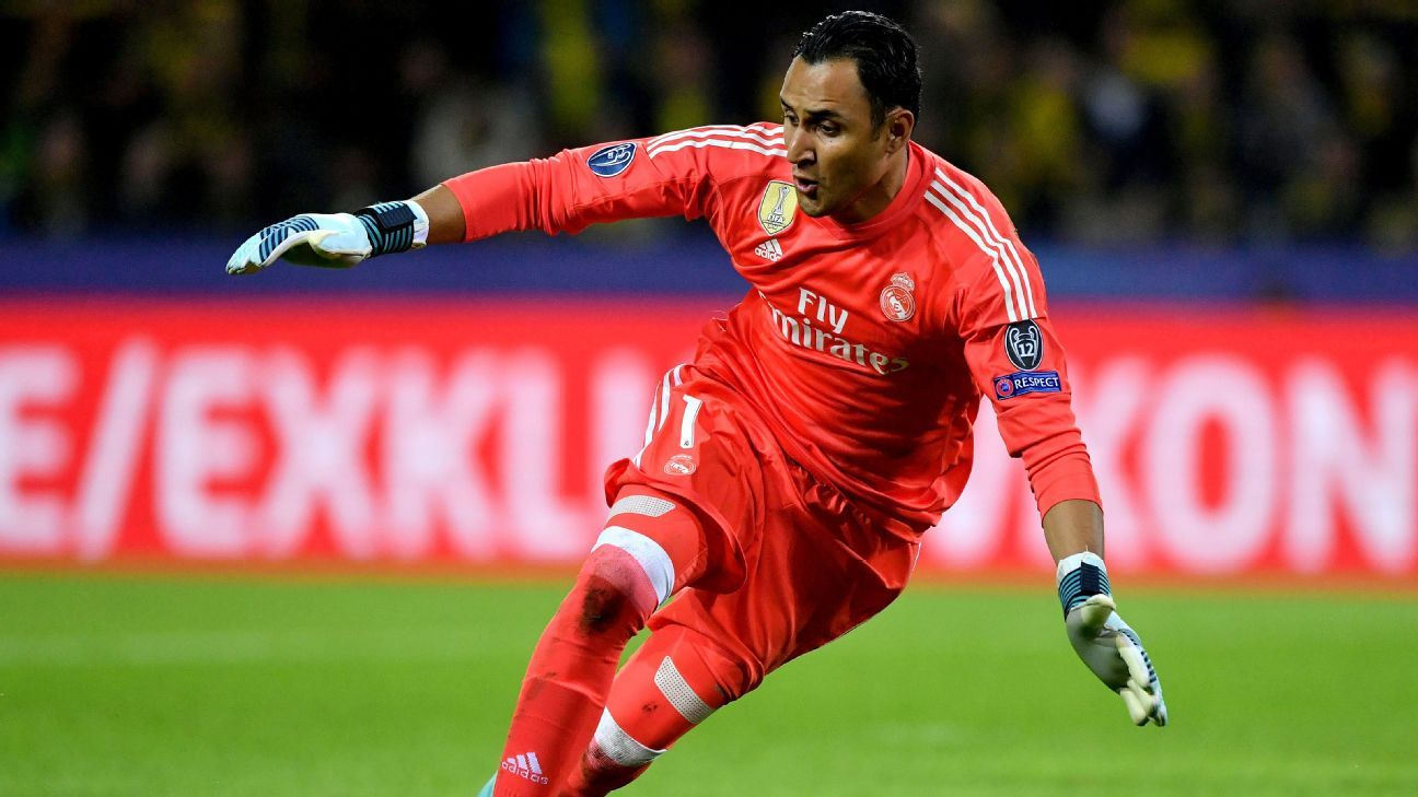 Real Madrid's Keylor Navas can stay for many more years - Florentino Perez