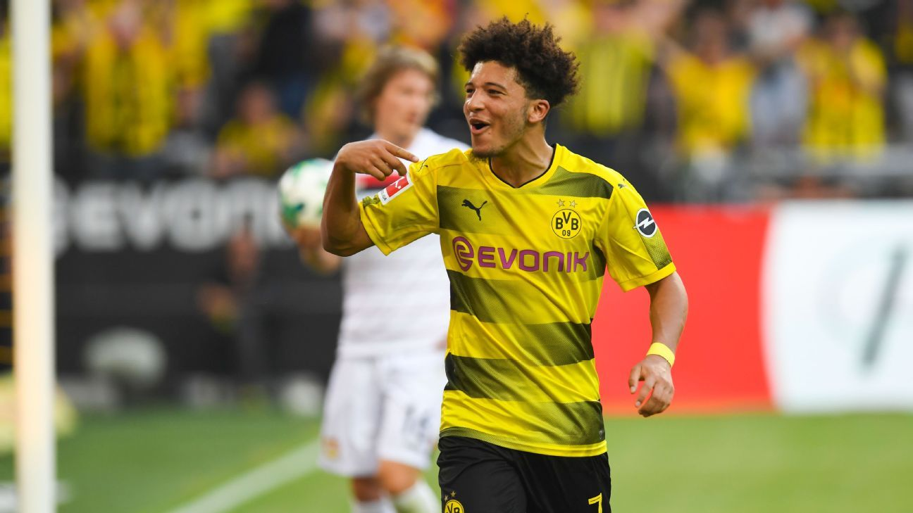 Borussia Dortmund's Marco Reus: Jadon Sancho is better than me at 18 years old