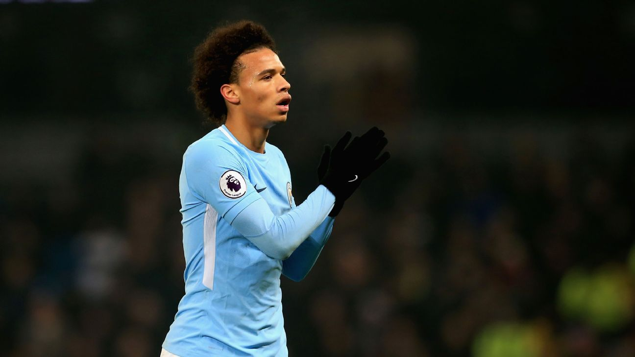 Manchester City's Leroy Sane a potential Ballon d'Or winner under Pep Guardiola