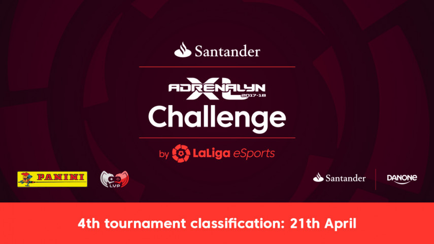 Fierce competition in the fourth Santander Adrenalyn Challenge by LaLiga eSports online tournament