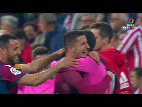 Resumen de Athletic Club vs Levante UD (1-3)