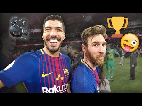 SEVILLA 0-5 BARÇA | Player cam celebration