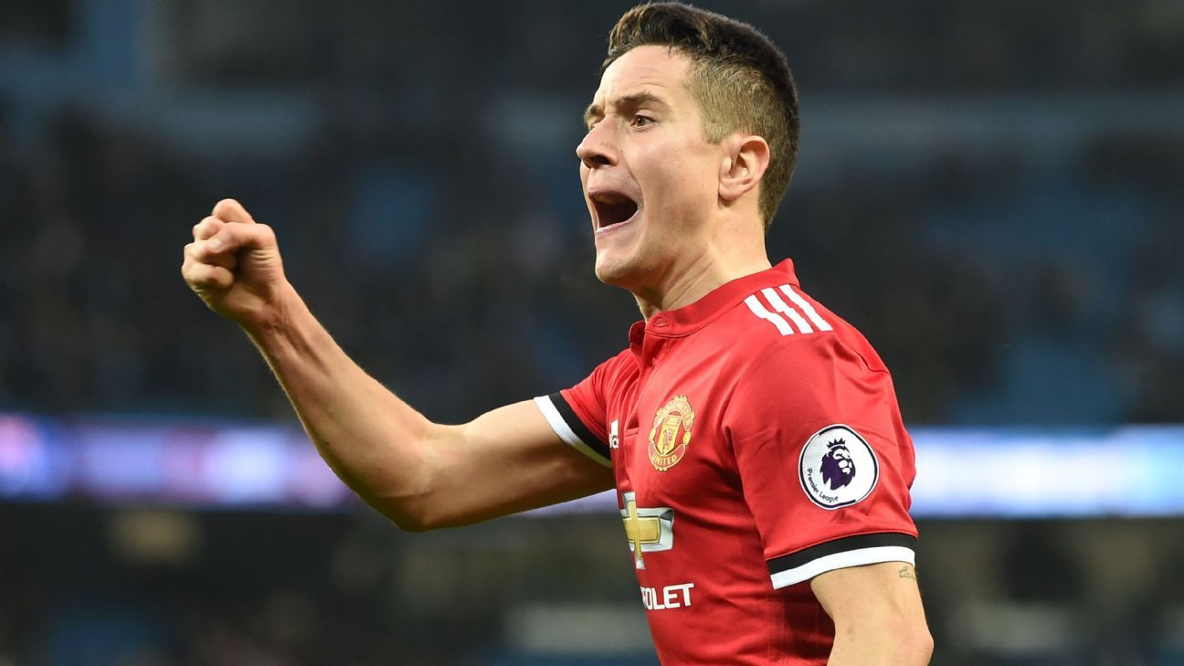 Ander Herrera recovers from uncertain spell to be Jose Mourinho's trusted lieutenant
