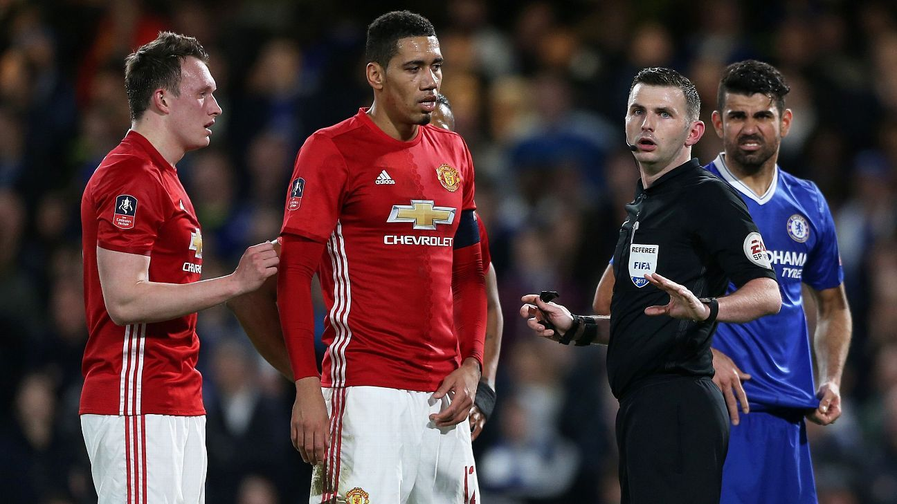 Man United vs. Chelsea FA Cup final to be refereed by Michael Oliver
