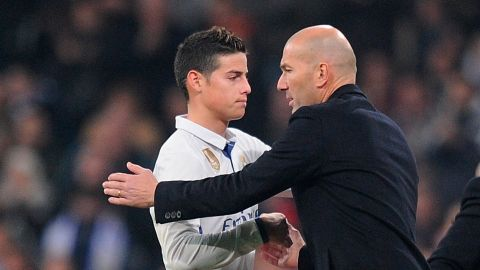 Zidane: 'I didn't want James to leave Madrid' Real Madrid coach Zinedine Zidane has admitted he'd have liked to keep hold of the Bayern superstar. vor 2 Stunden