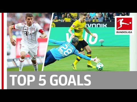 Müller, Reus, Stindl and More - Top 5 Goals on Matchday 31