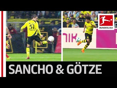 Bundesliga Mystery Presents… Part 2 - Sancho & Götze's Identical Skills