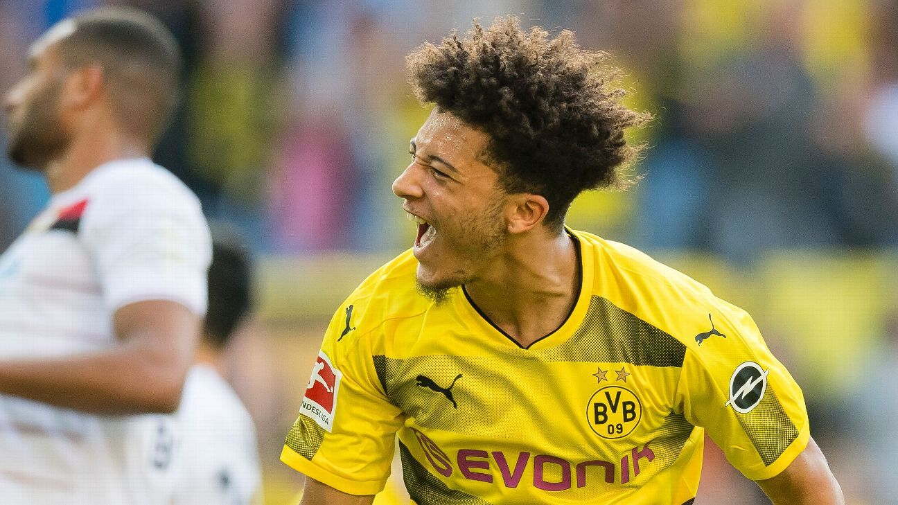 Neymar my role model and favourite player - Borussia Dortmund's Jadon Sancho