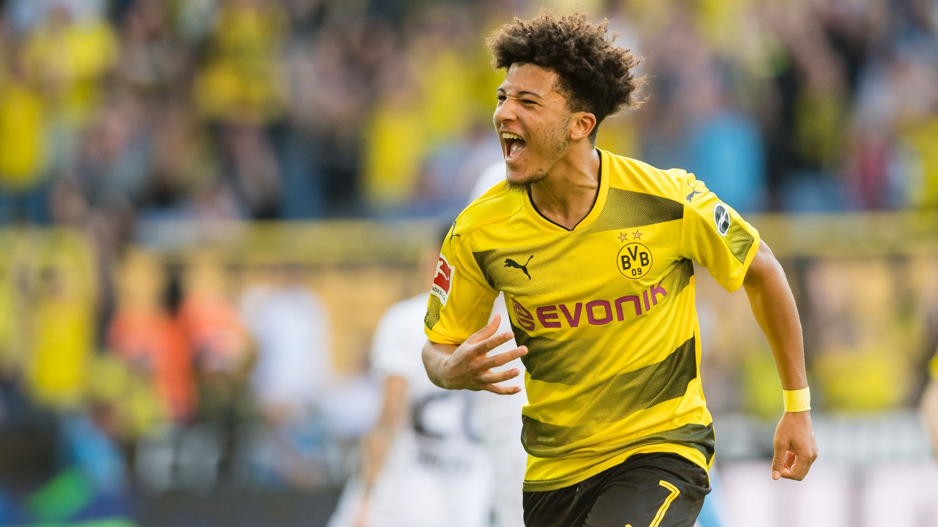 Dortmund's Sancho: Neymar is my role model