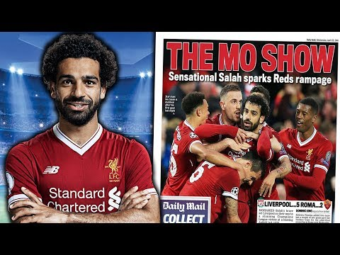Liverpool 5 - 2 Roma | Can Mohamed Salah Win The Ballon d'Or?! | #UCLReview
