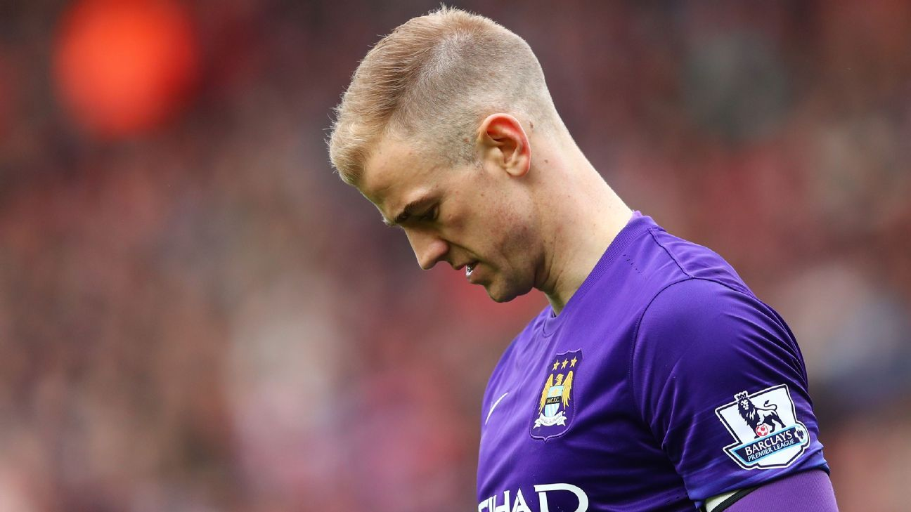 Joe Hart career on downward spiral but Manchester City fans still love former No.1