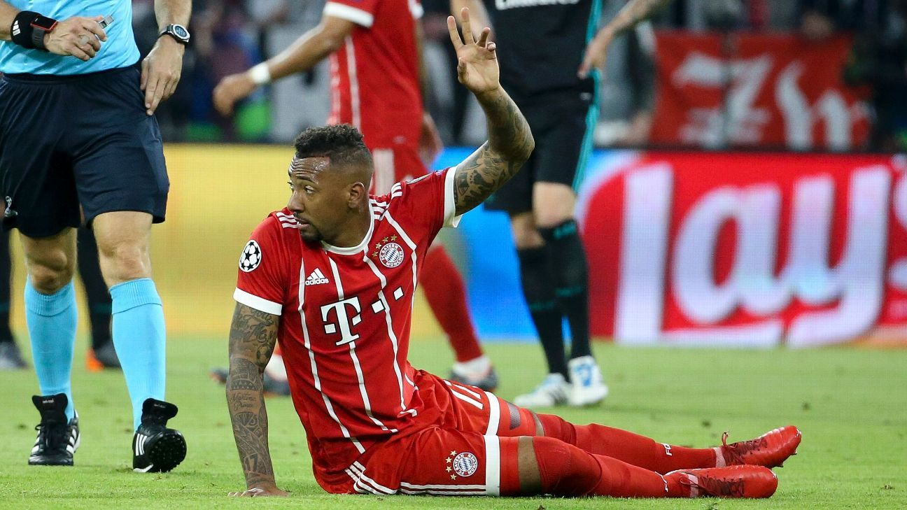 Bayern Munich's Jerome Boateng considering future options