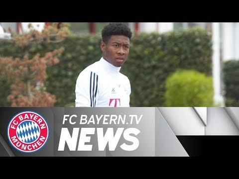 FC Bayern after Real: Alaba returns to full training