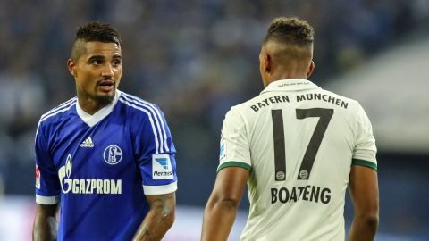 Jerome And Kevin Prince Boateng Brothers In Boots Two Of The Most Famous