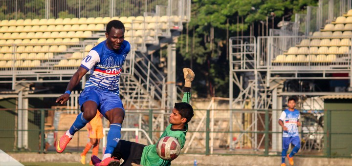 Enock Annan's late goal helps lower side ONG to win league in India