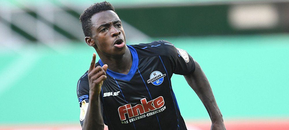Christopher Antwi-Adjei fires in brace as Paderborn dismantle Osnabrueck in German 3rd Liga