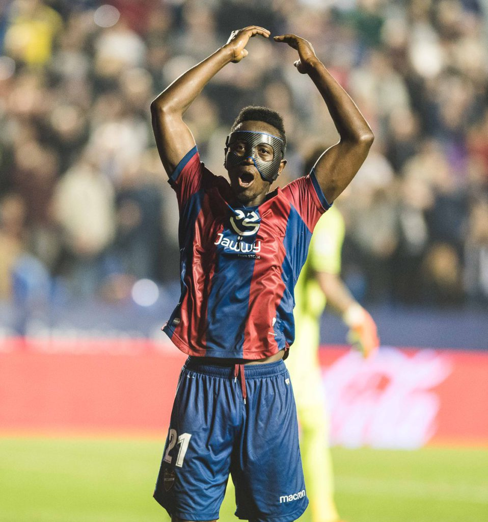 Striker Emmanuel Boateng thrilled to score late winner for Levante