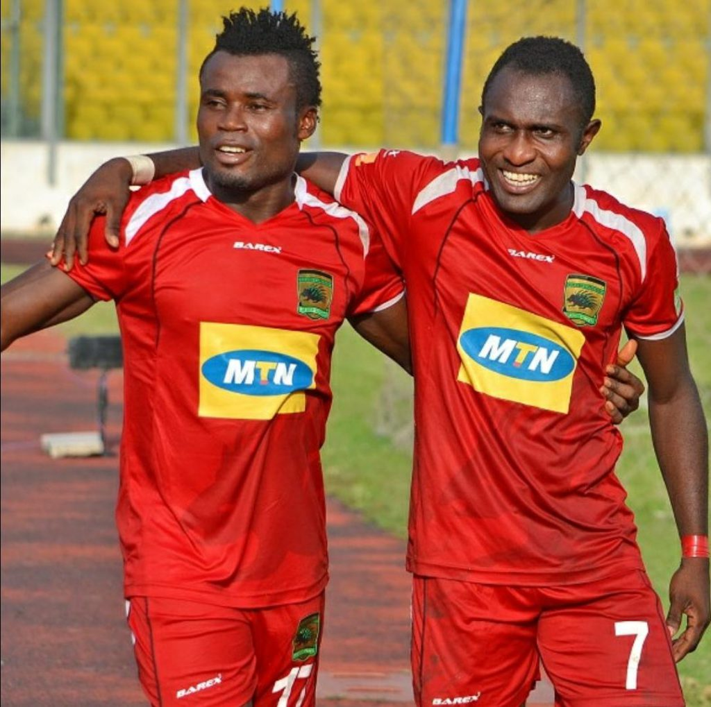 Asante Kotoko forward Obed Owusu delighted with win over Wa All Stars