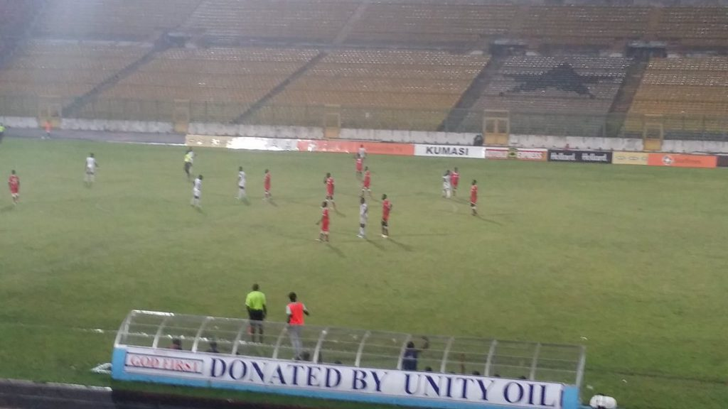 Berekum Chelsea-Liberty Professionals clash rained off