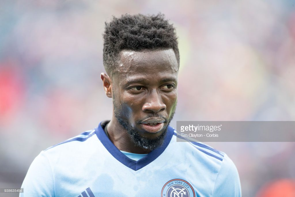 Ghana's Ebenezer Ofori to work under Domenec Torrent at New York City FC