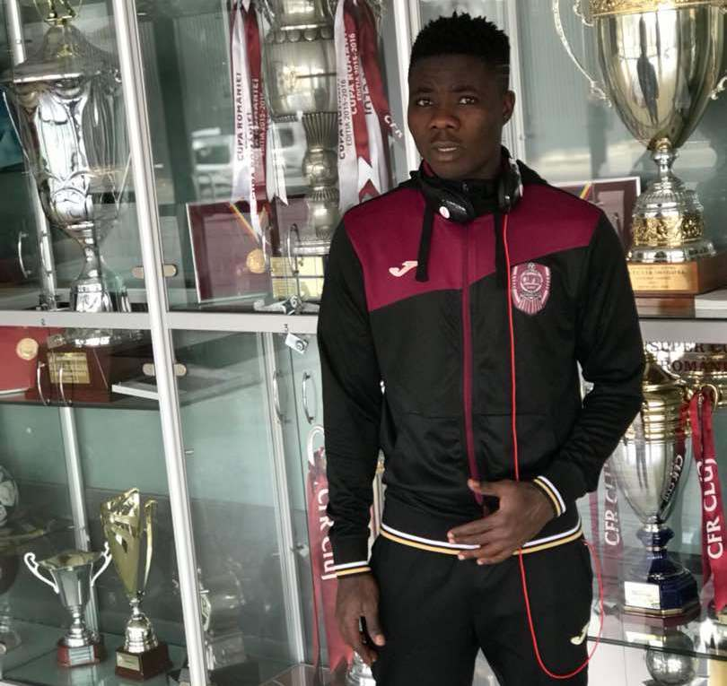 EXCLUSIVE: Romanian giants CFR Cluj signs Ghanaian starlet John Kofi Essel