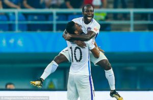 In-form Frank Acheampong recovers from penalty miss to bag 11th league goal for Tianjin Teda in win at Hebei